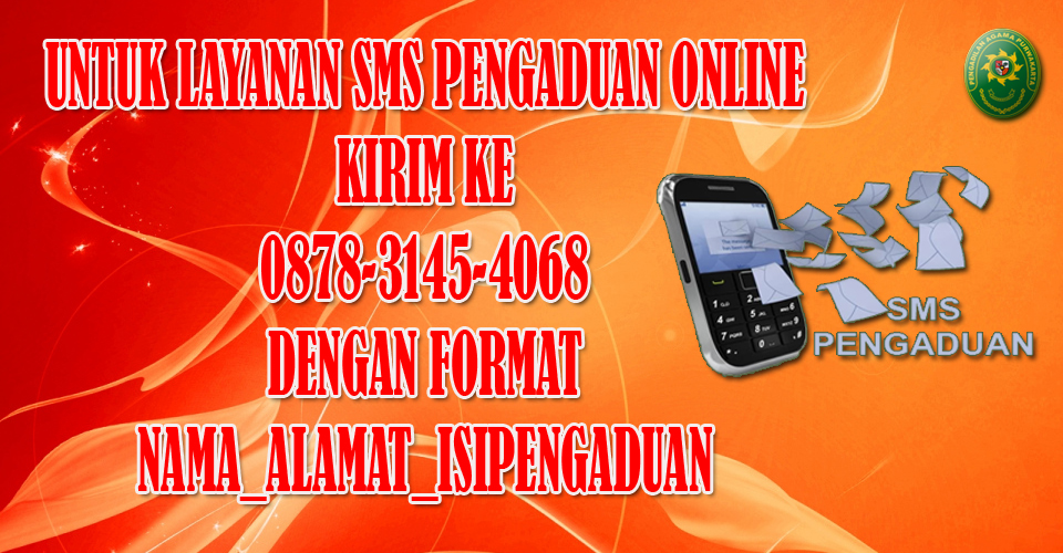 SMS Pengaduan